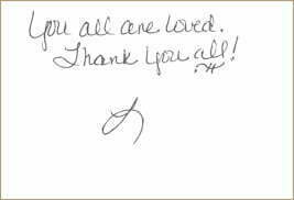 Dr. Movassaghi Thank you Note