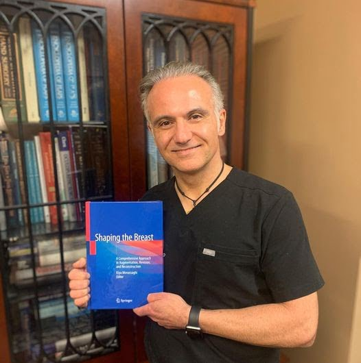 """Dr. Movassaghi Introduces His Newest Book, """"Shaping the Breast"""""""