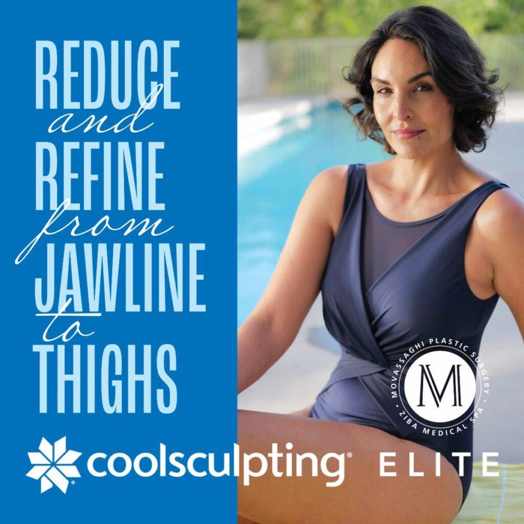 CoolSculpting Elite Special July 2021 Movassaghi Plastic Surgery Ziba Medical Spa